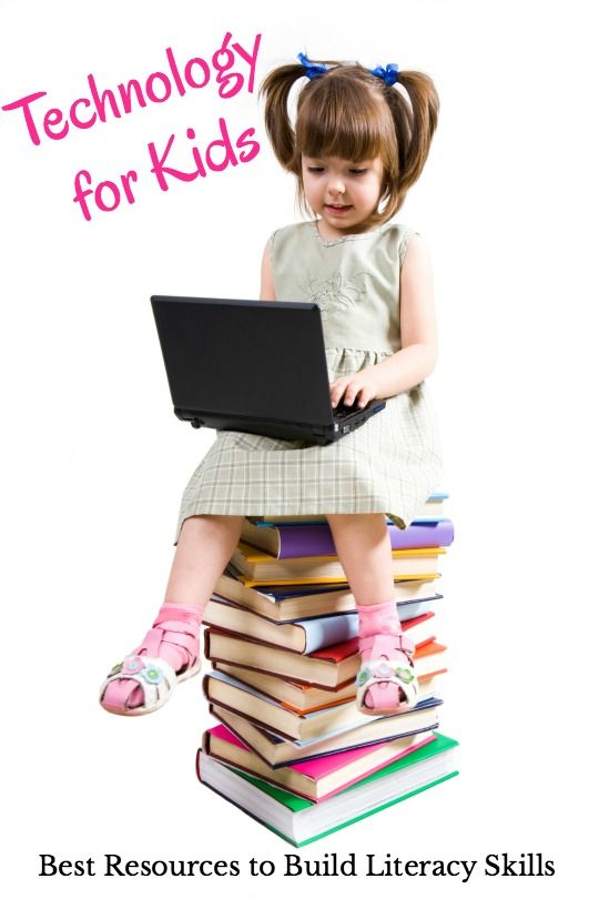 The technology for kids resources to build literacy skills! Get the best apps, music, YouTube videos, audiobooks for kids and more in this ultimate list of resources.: