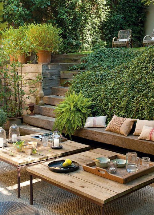 https://flic.kr/p/e13u3n | 10 BEAUTIFUL OUTDOOR AREAS | featured on my blog the style files (see my profile for url):
