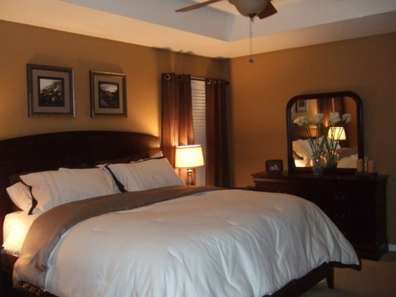 Warm Master Bedroom Decorating Ideas