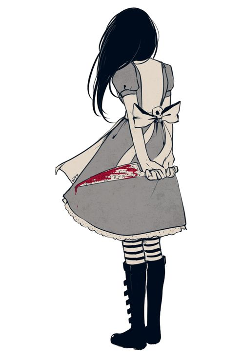 """""""This is Wonderland, and you are Alice."""" American mcgee's ..."""