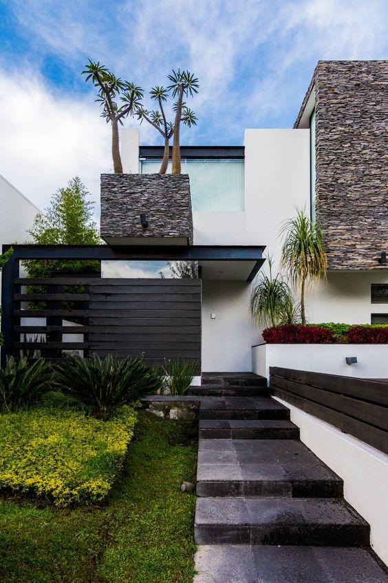 Ingreso : Casas modernas de aaestudio: