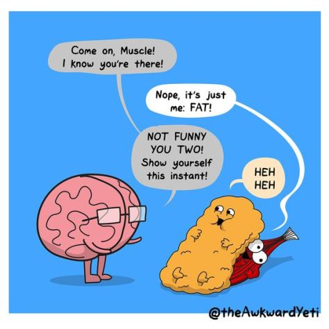 The Awkward Yeti