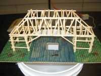 Toothpick Bridge Science Project   Elementary Science ...