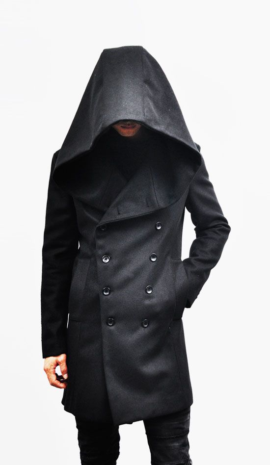 outerwear coats avant garde big hood double coat on men s insulated coveralls with hood id=57654