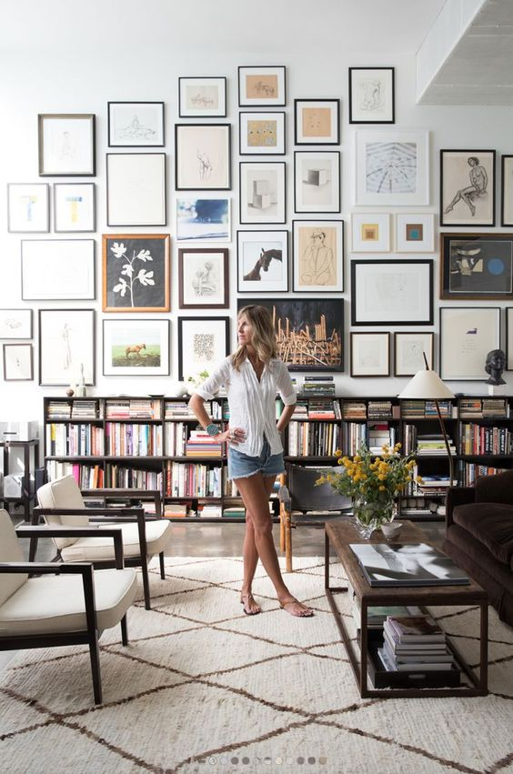 HOW TO CREATE A BEAUTIFUL GALLERY WALL | http://style-files.com | Bloglovin':