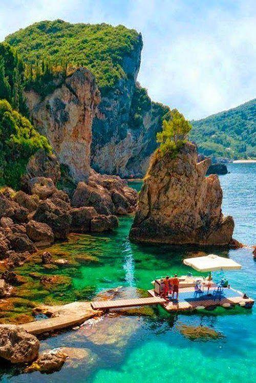 La Grotta Cove, Corfu Island: