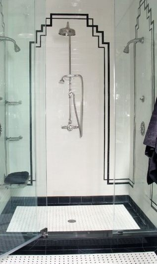 shower border ideas