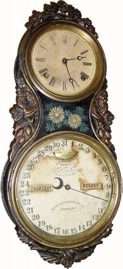 Antique Clock Details: