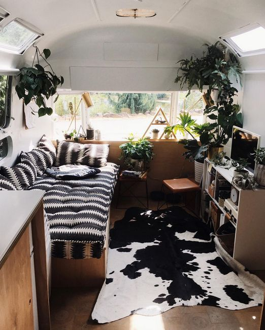 Insta Find | Tin Can Homestead Renovated vintage airstream - Tin Can Homestead: