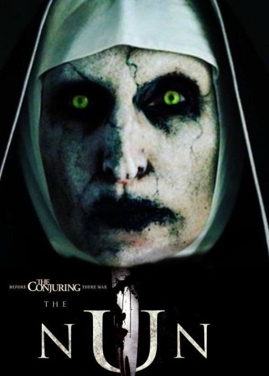 Image result for the nun official movie poster