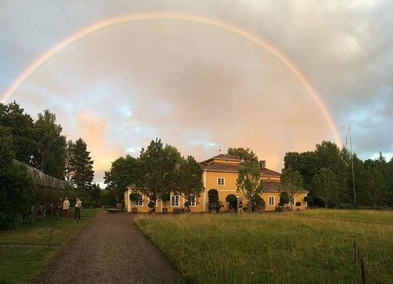 Somewhere.... #gunillaberg #rainbow #småland: