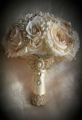 Image result for glam wedding bouquet