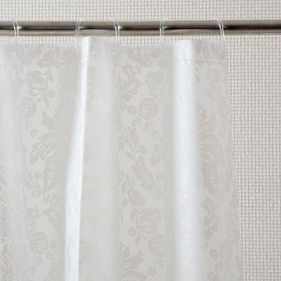 Jacquard Shower Curtain Curtains Bathroom Zara Home