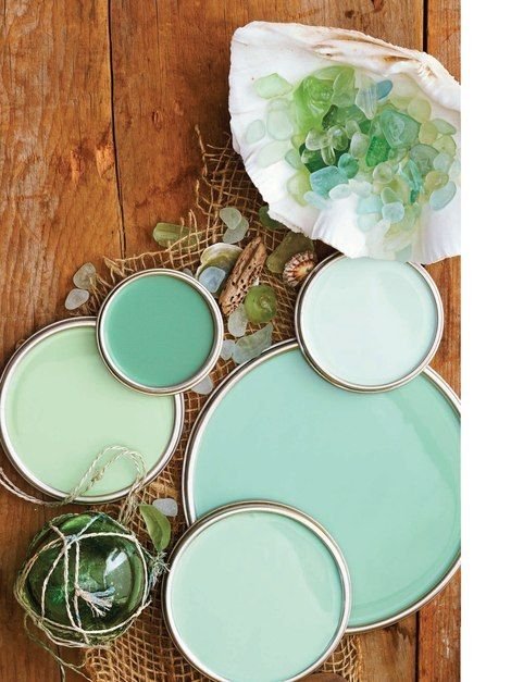 coastal colors seaglass gardens copper and summer on benjamin moore interior paint chart id=61600
