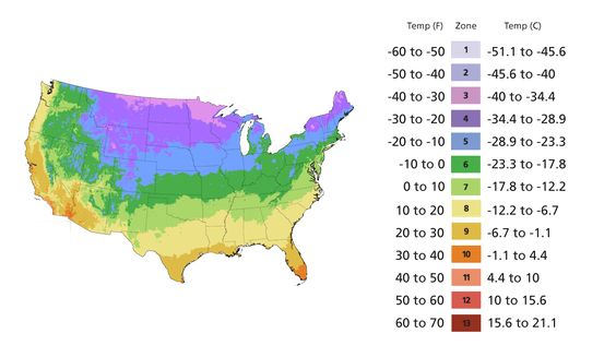 Zone Map Put In Your Zip Code And Learn Your Usda Zone
