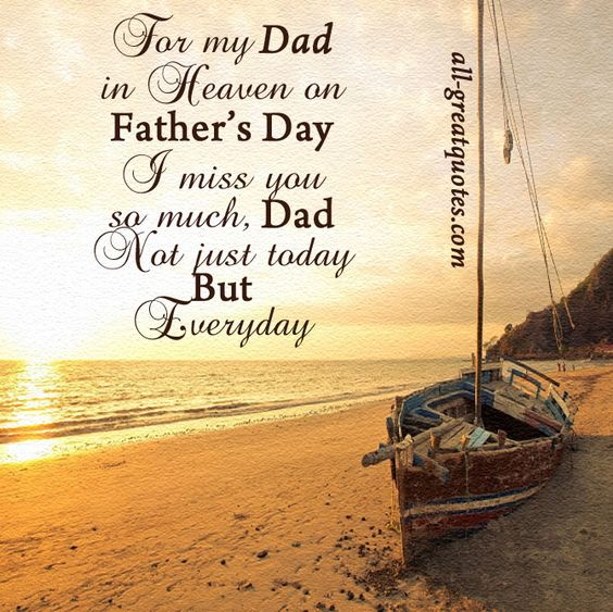 Dad in heaven, Miss you and Father on Pinterest