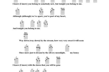 Tonight You Belong To Me Chords idea gallery