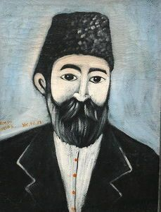 autoportrait - (Niko Pirosmani):