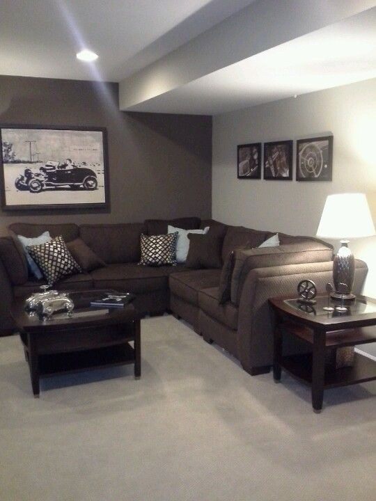 basement perfect for our tv room in the basement for on wall paint ideas for living room id=60352