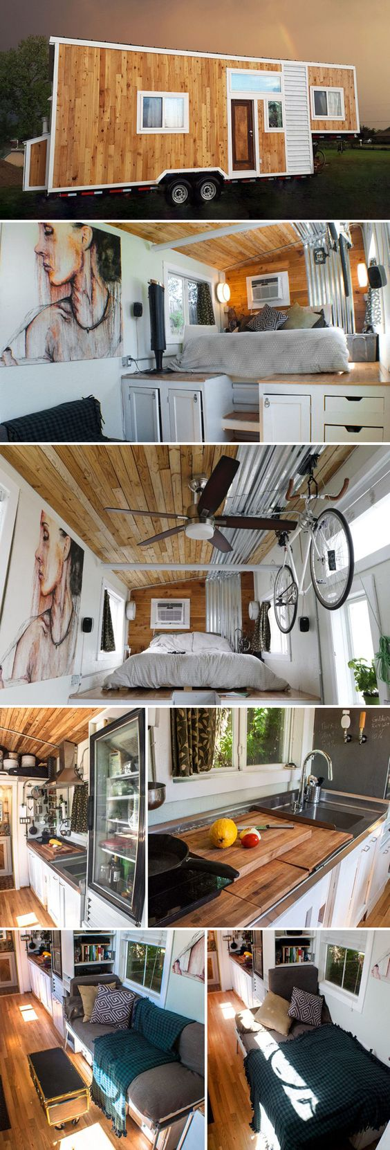 Gooseneck Tiny home on pinterest
