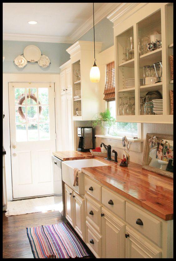 blue paint color for kitchen