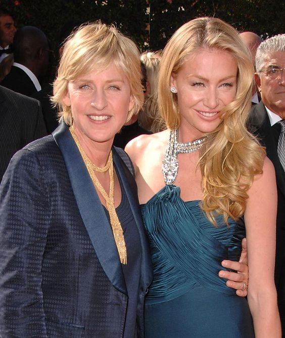 ellen degeneres portia de rossi | /comedian Ellen ...
