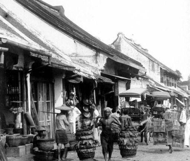 Batavia Pasar Senen Batavia Senen Area In Jakarta Is Still There A