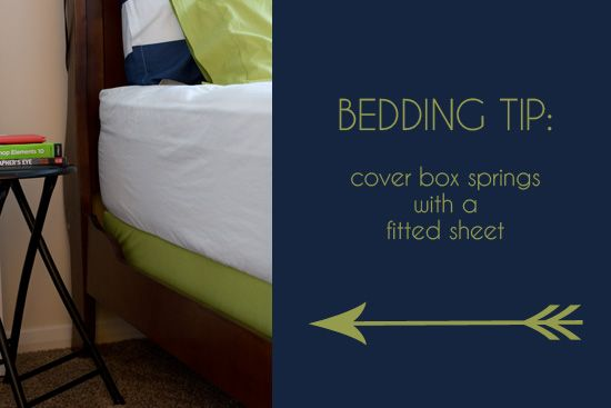 Perfect And Inexpensive Alternative To Bed Skirt Cover