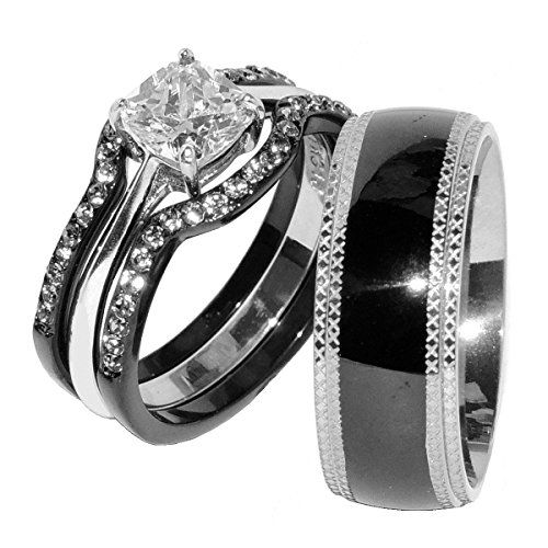 Wedding Ring Stainless Steel And Steel On Pinterest