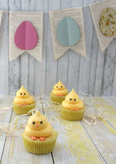 Easter Food Recipes Cupcakes Dessert Chicks Cupcake Ideas