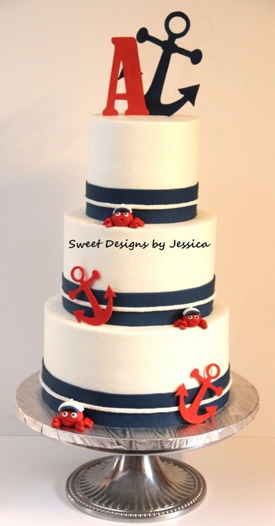Southern Blue Celebrations Nautical Cake Inspirations Amp Ideas