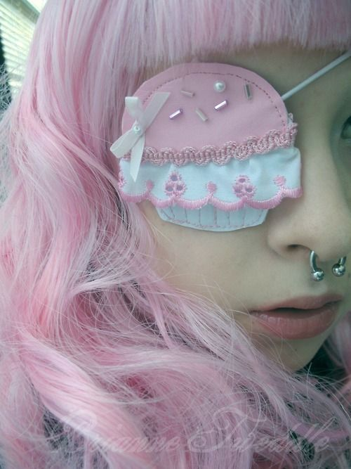 Eye Patches Fashion Cupcakes And Kawaii On Pinterest