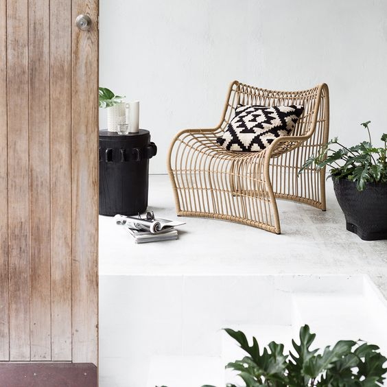 Outdoor Wave Chair - Styling/Photography: Indie Home Collective: