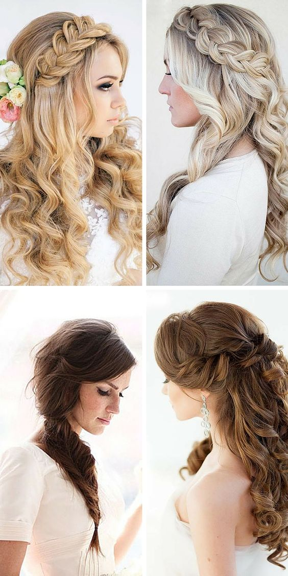 Bridal Hairstyles Elegant Styles And Hairstyles On Pinterest