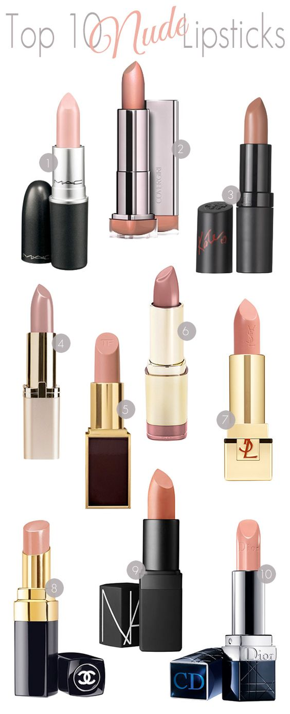 Top 10 unclad Lipsticks. - Home - Beautiful Makeup Search: Beauty Blog, Makeup & Skin Care Reviews, Beauty Tips: