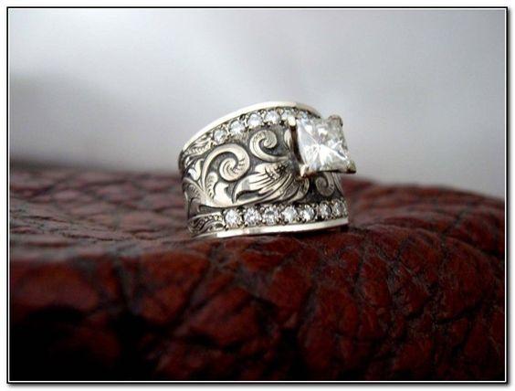 Western Rings Western Wedding Rings By Travis Stringer