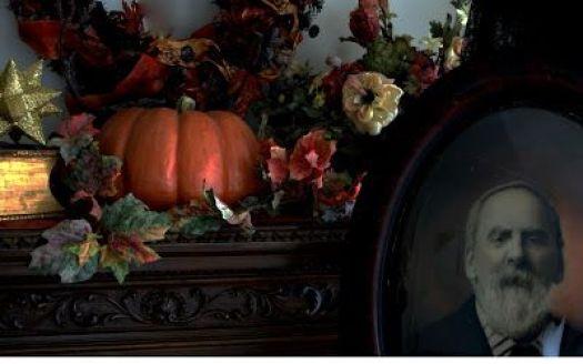 Halloween home from A Harvest and Halloween Handbook: