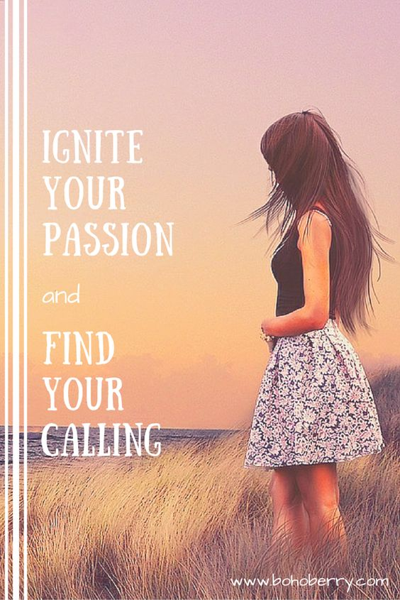 Discover how to find your passion and turn it into a way to help others. THAT, my friends, is your calling.: