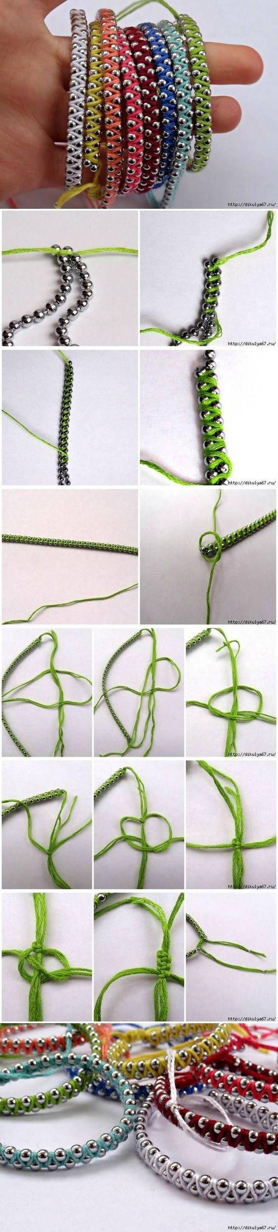 DIY Rainbow Friendship Bracelets DIY Projects   UsefulDIY.com: