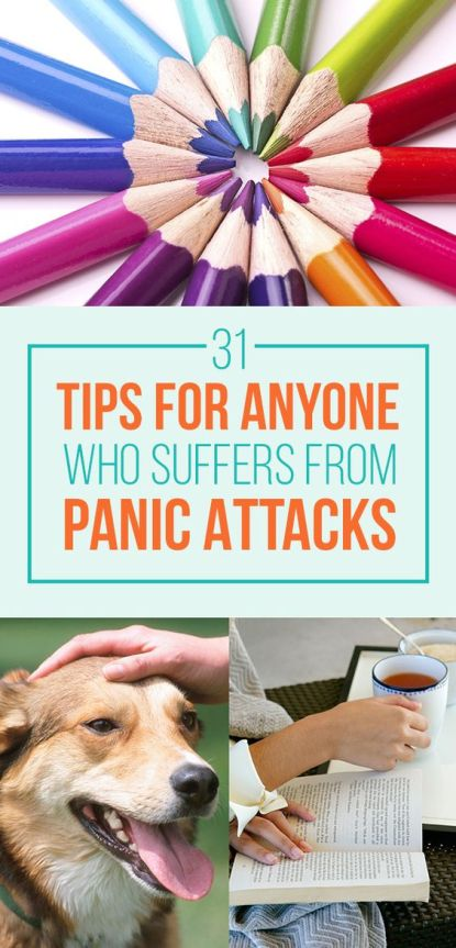 31 Ways To Help Calm And Steady Yourself During An Anxiety or Panic Attack Or just to calm and center yourself when needed: