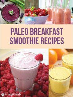 30 of the Best Paleo Breakfast Smoothie Recipes:
