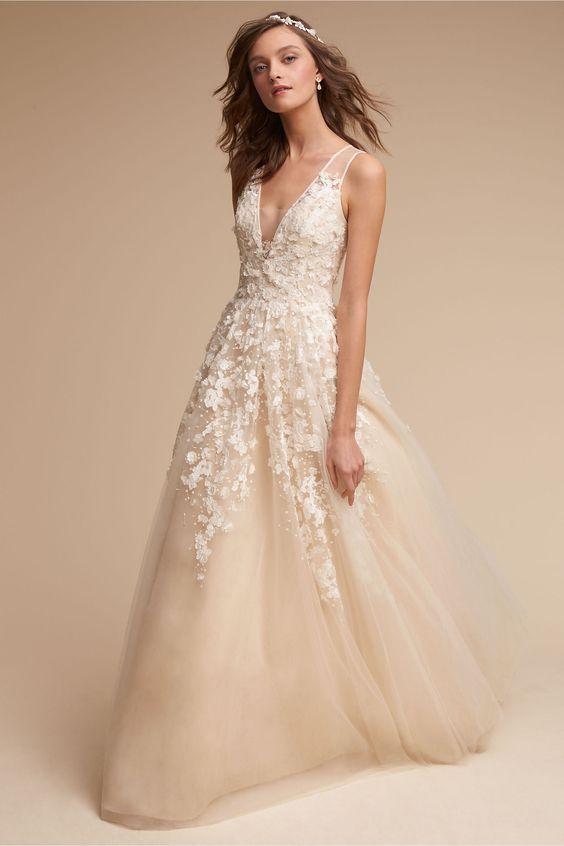 BHLDN Ariane Gown in Bride Wedding Dresses | BHLDN: