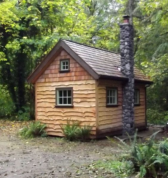 This Is The First Of Three Small Cabins I Am Building
