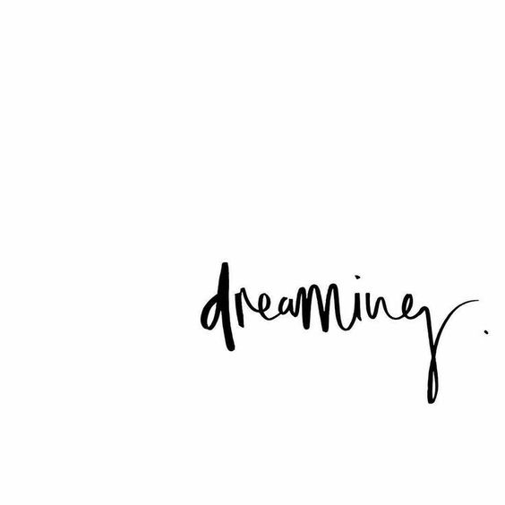 dreaming.: