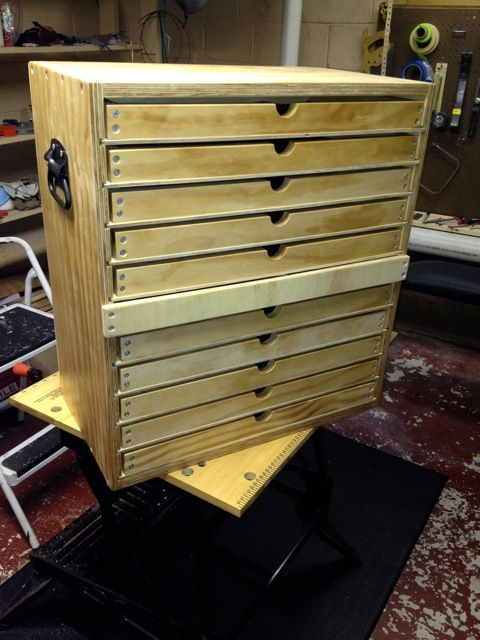 Tool Chest With Trays Woodworking Talk Woodworkers