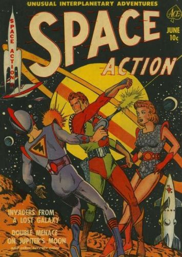 Astounding Science Fiction August 1954