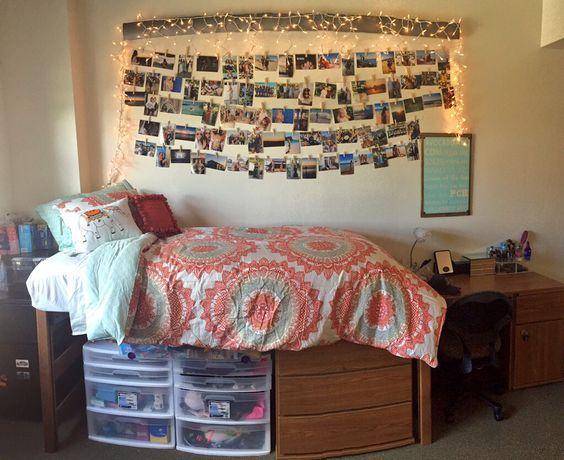 My Dorm Room University Of Arizona College Dorms Pinterest Photo Walls Hanging Pictures