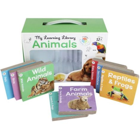 My Learning Library - Animals by Hinkler | Pre-School Learning at The Works: