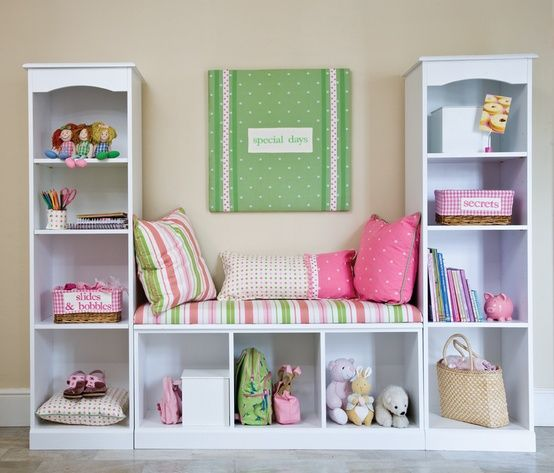 10 awesome Ikea hacks you need to try - reading nook from 3 bookcases