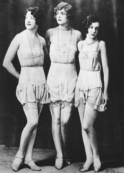 1920s Underwear   Breve história sobre Lingerie _ Parte II: